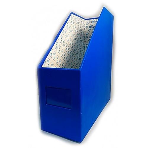 กล่องใส่แฟ้ม 1ช่อง น้ำเงินสด