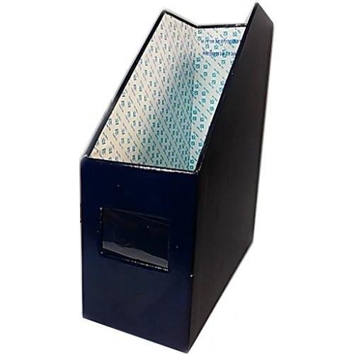 กล่องใส่แฟ้ม 1ช่อง น้ำเงินเข้ม