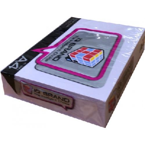 กระดาษสีถ่ายเอกสาร ไอคิว 80 แกรม A4   สีม่วงอ่อน V1