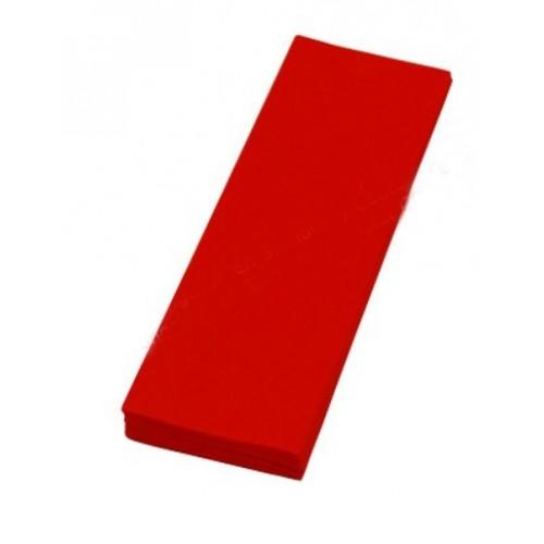 กระดาษย่น 2 หน้า No.5 สีแดง