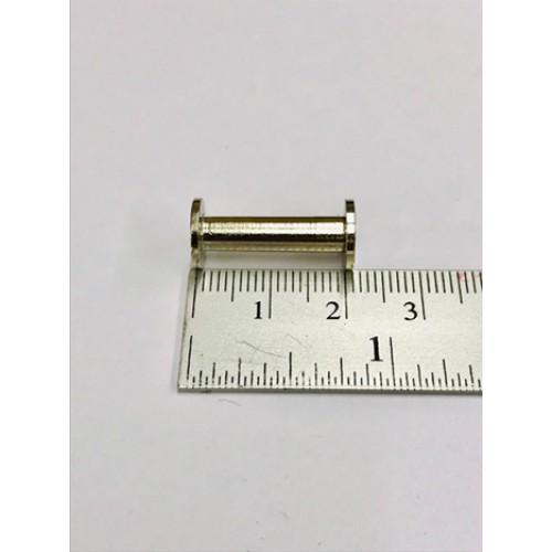 น็อตยึดแฟ้มสีเงินนิเกิ้ล ขนาด 34.นิ้ว (18มม.)