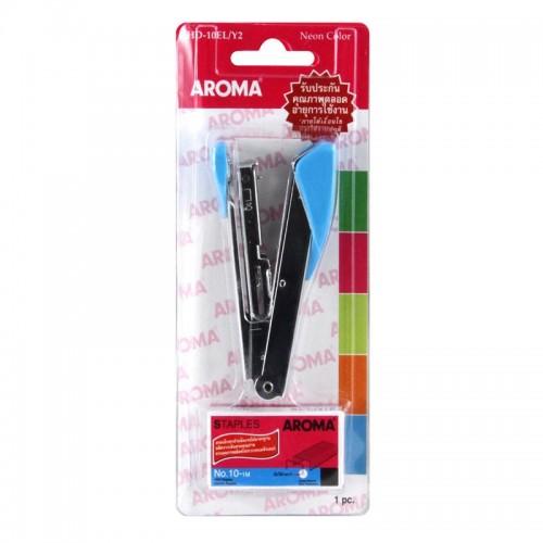 เครื่องเย็บกระดาษ อโรม่า AROMA HD-10ELY2 NEON COLOR