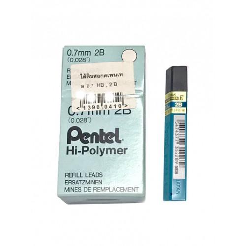 ไส้ดินสอ 2B 0.7 มม. เพนเทล Hi-Polymer 50E