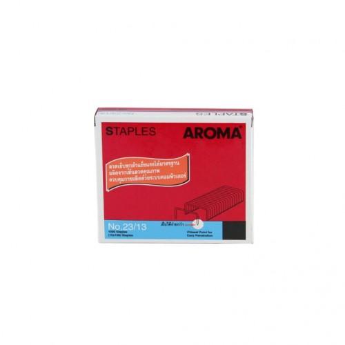 ลวดเย็บกระดาษอโรม่า AROMA Staples เบอร์2313