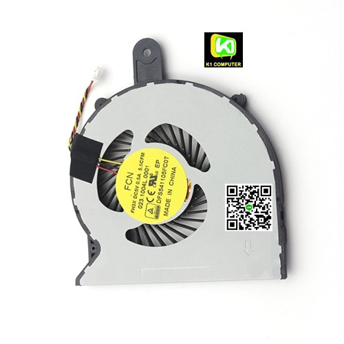 พัดลม  Dell inspiron 3458DELL CPU FAN พัดลมโน๊ตบุ๊ค DELL Inspiron 3458 3459 3558 14-3458 14-3459 345
