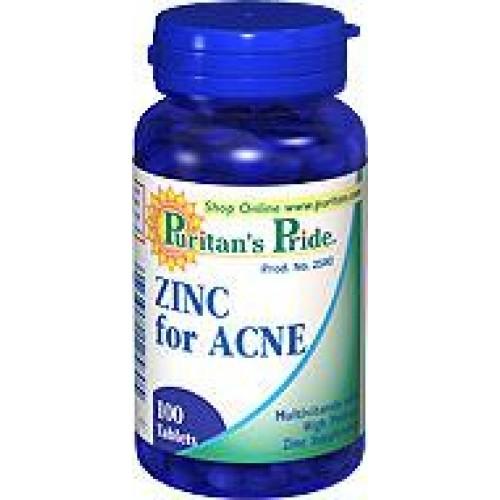 Zinc for Acne ควบคุมการเกิดสิว ทั้งลดสิวผด สิวหนอง สิวอักเสบ ควบคุมความมัน ฟื้นฟูผิวที่อักเสบเป็นแผล