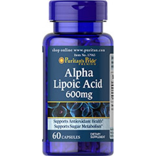 Puritan Alpha Lipoic Acid 600 mg. 60 Capsule (ALA) ������������������������������������������������������������������ ��������������������������������������������� ���������������������