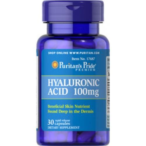 Hyaluronic Acid 100mg.30 Capsules ������������������������������������������������������ ��������������������� ������������������������������������������������������������������  ���������������������������������������