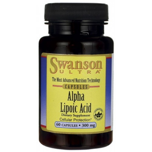Swanson Alpha Lipoic Acid 300 mg. 60 แคปซูล  ALA สุดยอดอาหารเสริมต้านอนุมูลอิสระ