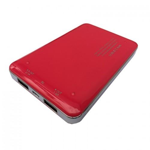 Power Bank eloop E9 10000mAh แบตสำรองของแท้ ขนาดเล็กพกพาสะดวก ใช้ดี ใช้ทนนาน สีชมพู