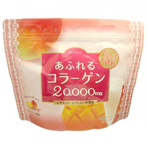 Afureru collagen คอลลาเจนรสมะม่วงจากประเทศญี่ปุ่น 20000 mg.วัน อร่อยห่อใหญ่ 250กรัม ผสมไฮยารูรอน