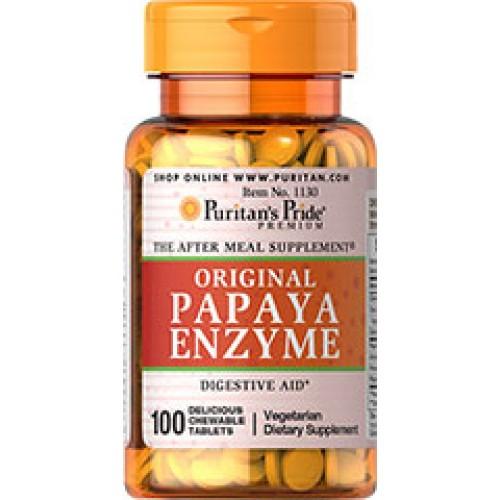 Chewable Papaya Enzyme  ลูกอมเอนไซม์ควบคุมน้ำหนัก บรรจุ 100 เม็ด