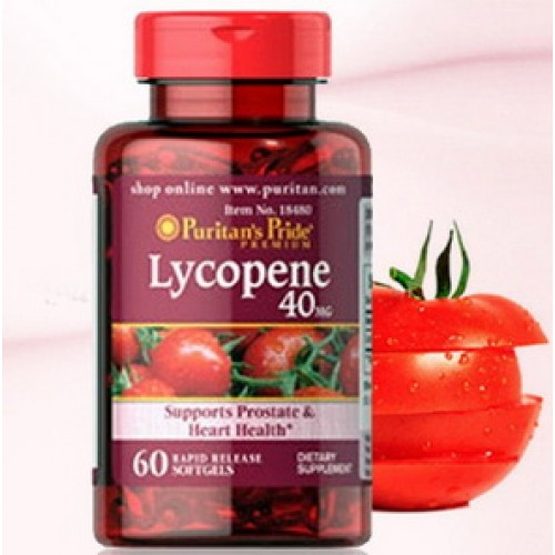 Puritan Lycopene 40 mg 60 Softgel ��������������������������������������������������������� ������������������������������������������������������������������������������ ������������������������������