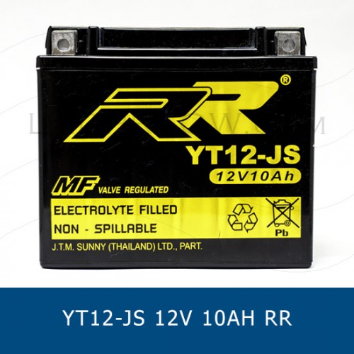 RR YT12-JS YTX12-BS ��������������������������������������� ��������������������������������� motorcycle battery