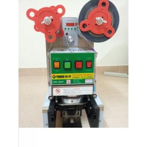 เครื่องซีลฝาแก้ว ระบบ Full-Auto (อัตโนมัติเต็มรูปแบบ) ยี่ห้อ YODO รุ่น D2590s