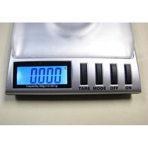 เครื่องชั่งดิจิตอล ขนาดพกพา 20*0.001g