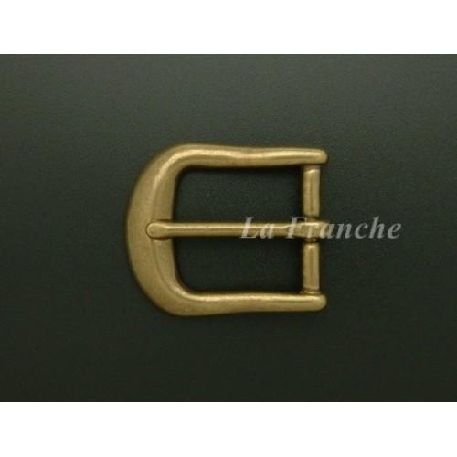 หัวเข็มขัดทองเหลืองแท้, ขนาด 1.2 นิ้ว - code 2M01009