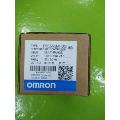 OMRON E5CZ-R2MT-500 100-240VAC 5060HZ ราคา 2300 บาท