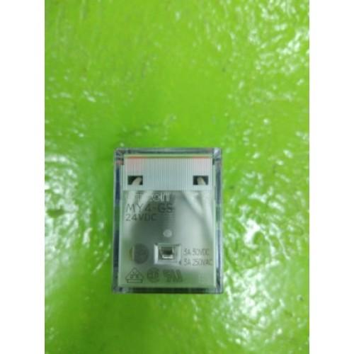 OMRON MY4-GS 24VDC ราคา 100 บาท