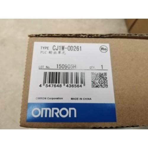 OMRON CJ1W-OD261 OUTPUT MODULE ราคา 6530 บาท