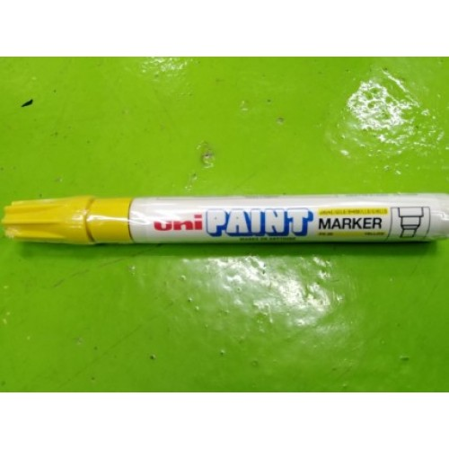 UNI PAINT MARKER PX-20 COLOR YELLOW ราคา 48 บาท