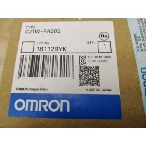 OMRON CJ1W-PA202 POWER SUPPLY MODULE ราคา 2250 บาท