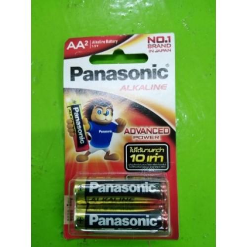 BATTERY PANASONIC LR6T2B 1.5V SIZE AA ราคา 16 บาท