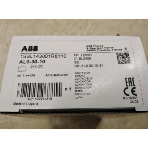 ABB AL9-30-10 24VDC ราคา 3000 บาท