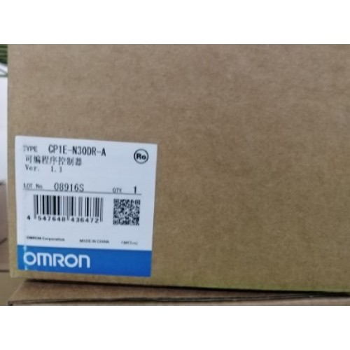 OMRON CP1E-N30DR-A ราคา 3500 บาท