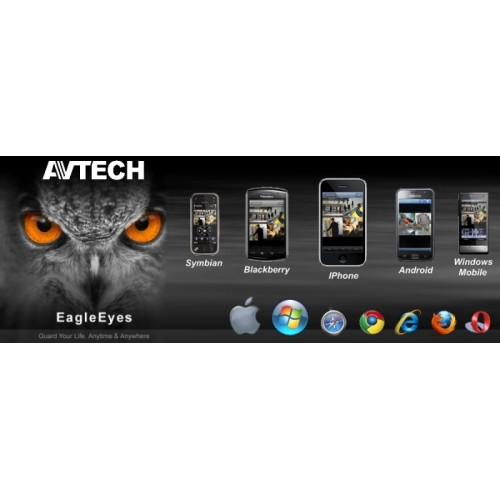 AVTECH 16 CH Full HDCCTV  HDCamera Lens 3.6 mm แถมฟรี ฮาร์ดิส 3000 TB  ชุดโปรโมชั่น