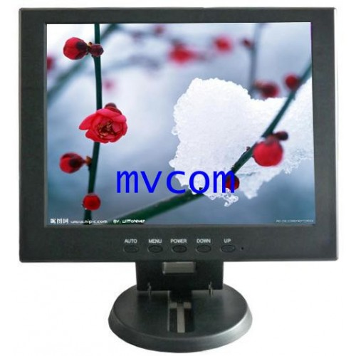 TFT 12 Inch LCD Monitor with AV VGA  HDMI  รับประกัน 1 ปี