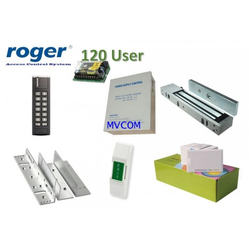 Roger Set Access Control PRT12 OUTDOOR พร้อมอุปกรณ์ประตู 1 ชุด รับประกัน 1ปี