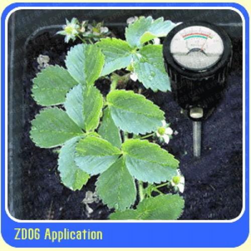 เครื่องวัด pH และความชื้นในดิน รุ่นขาวัดยาวพิเศษถึง 29.5 ซม.