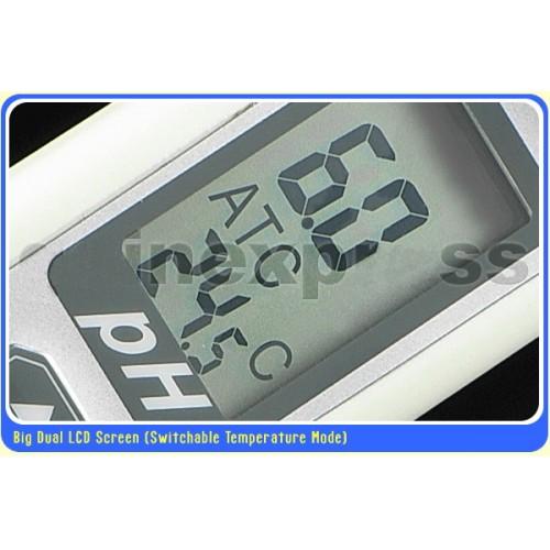 มิเตอร์วัดกรดด่าง และอุณหภูมิ กันน้ำได้, Auto Calibrate รุ่น AZ-85 ฟรี! Buffer Solution