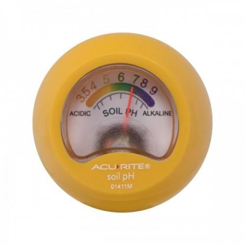 เครื่องวัด pH ดิน ช่วงการวัด 3.5-9 ยี่ห้อ AcuRite ผู้นำเครื่องวัดสภาพแวดล้อมจากอเมริกา
