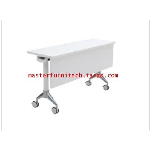 โต๊ะทำงานขาเหล็ก มีล้อเลื่อน รุ่น G-TR1360M