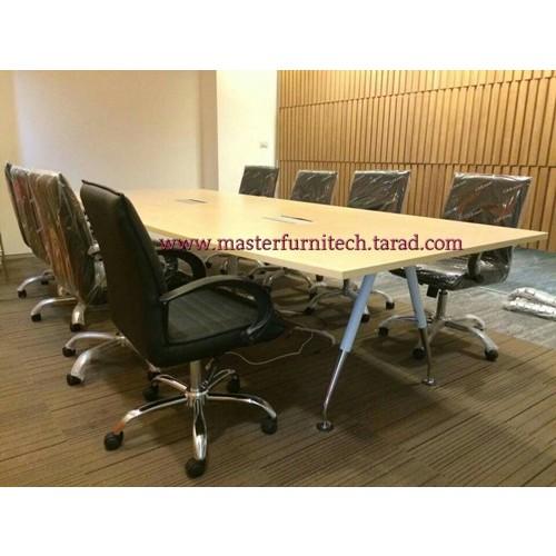 ชุดโต๊ะประชุมขาเหล็กรูปตัวV
