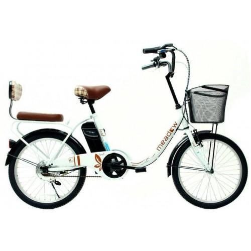 จักรยานแม่บ้าน Meadow รุ่น Leaf 20 นี้ว  แบตลิเธี่ยม