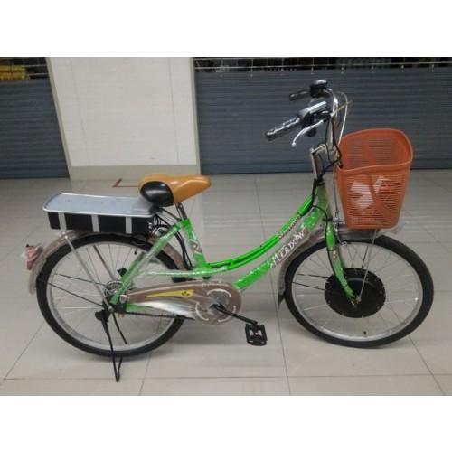 จักรยานแม่บ้านไฟฟ้า เมโด้ MIT24 มอเตอร์หน้า