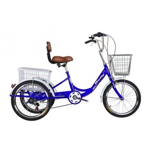 จักรยาน สามล้อคุณภาพดี ดีไซน์สวย เกียร์ 6 สปีด   Welly 20 นี้ว