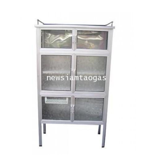 ตู้กับข้าว3ฟุต 6ประตู แข็งแรง ไม่ขึ้นสนิม ป้องกันฝุ่นและแมลงได้เป็นอย่างดี ราคาุถูก