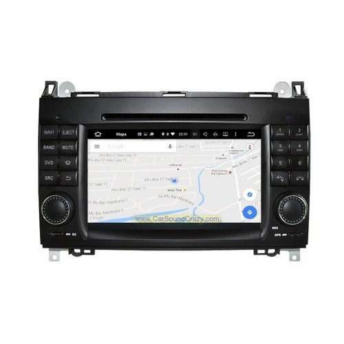 Benz W169 A Class (2004-2012) Android DVD GPS Bluetooth ตรงรุ่น_Copy