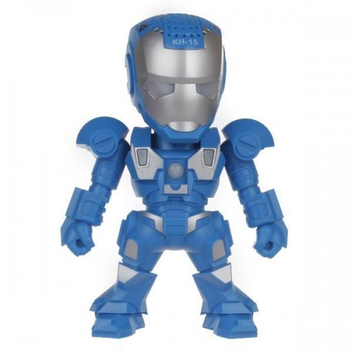 ลำโพง Robot สีฟ้า