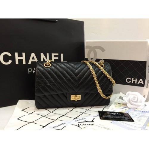 Chanel Reissue 2.55 Chevron Flap Bag GHW Top mirror image ��������������������������������������� 11 ������������