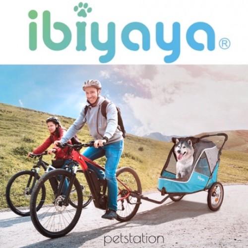 Ibiyaya Happy Pet Trailer Jogger 2.0 ������ Ocean Blue