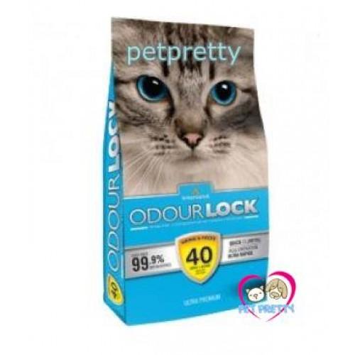 ทรายแมว หินภูเขาไฟเกรดพรีเมี่ยม Odour Lock ทรายภูเขาไฟ 12kg  ปราศจากฝุ่นถึง 99.9