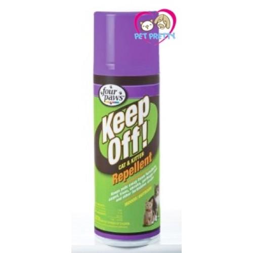FourPaws Keep Off  Cat Kitten Repellent ห้ามแมว ไล่แมว ห้ามข่วน ฉี่ใส่ทรัพย์สินใน24ชม.