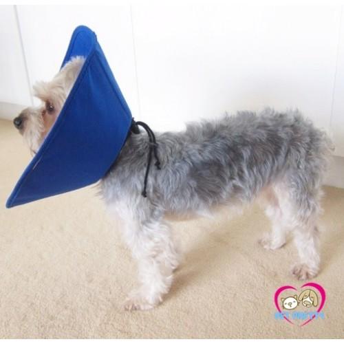 คอลล่าร์สุนัข แมว ปลอกคอกันเลีย Haoki แบบหูรูดเบาหวิว มีเชือกรูด นำเข้าจีน ไซส์ XS รอบคอ21-26cm