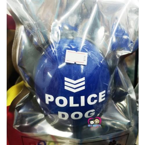 หมวกกันน็อคหมา  หมวกหมา วัสดุพลาสติกอย่างดี น้องหมาพันธุ์เล็ก มี3ลายคะ่