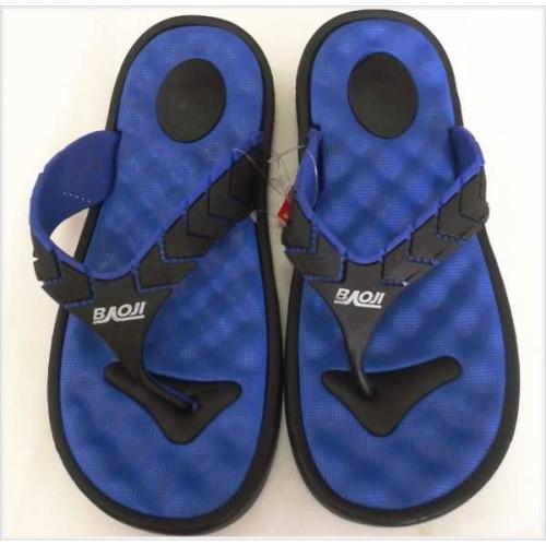 รองเท้าแตะแฟชั่น ผู้ชาย หูคีบ มีปุ่มนวดที่พื้น ยางBAOJI